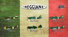 Sword 1/72 Model Kit 72110 Reggiane Fighters 6 different aircraft Limited Edition
